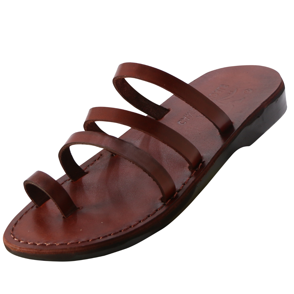 1bc9eb0aa41b Buy Three Strap Slip on Handmade Sandals - Avia