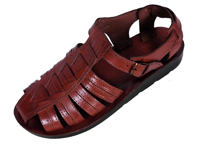 Buy Leather Covered Toe Fisherman Style Handmade Biblical