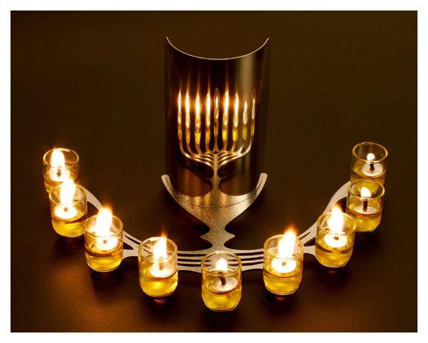 buy reflecting hanukkah menorah menorahs for sale israel catalog