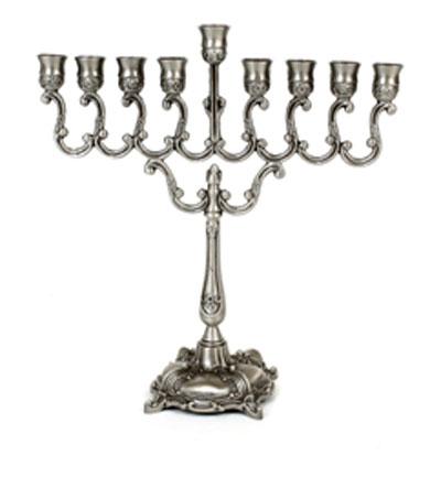 buy small silver hanukkah menorah menorahs for sale israel catalog