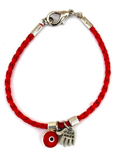 Red String Kabbalah Bracelet Hamsa Protective Eye
