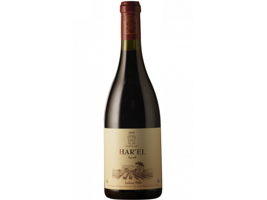 Israel Wine Clos de Gat Har'el Syrah