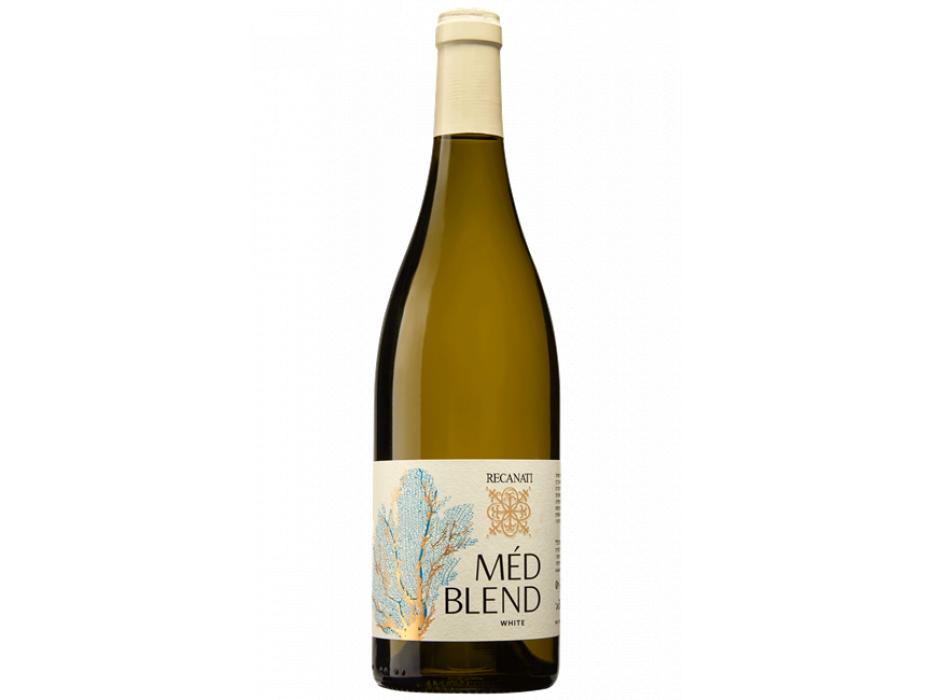Israeli Wine Recanati Med Blend White