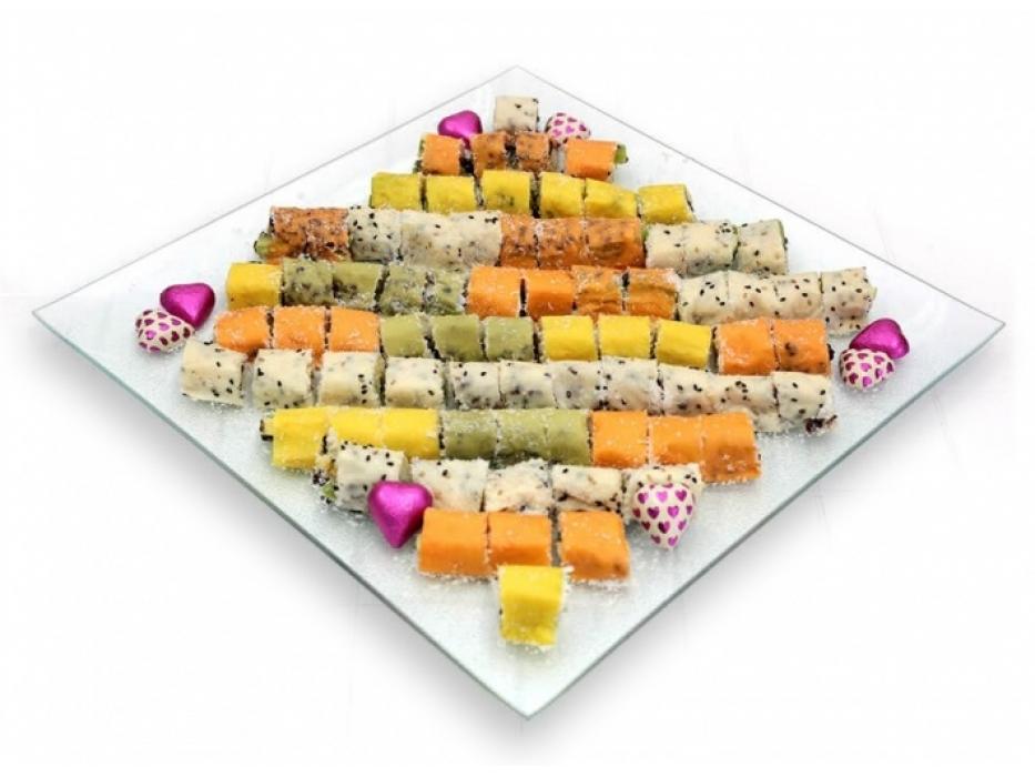 Large Fruit Sushi Tray