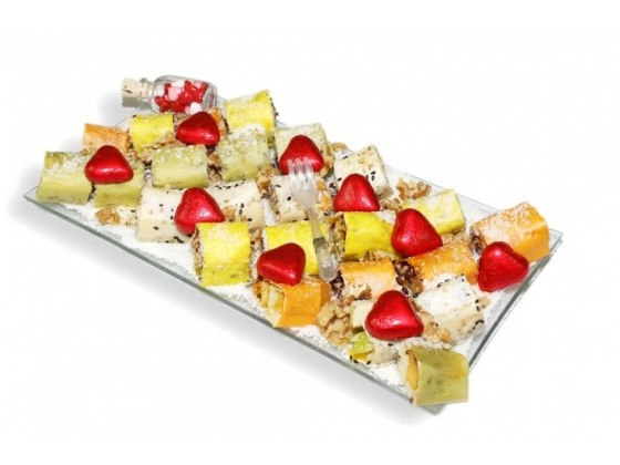 Love Fruit Sushi Tray