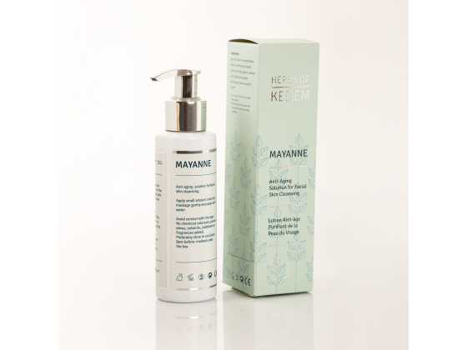 Kedem Cosmetics Mayanne Organic Gentle Liquid Facial Soap