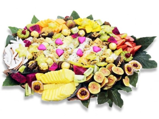 Magic of Love Tropical Fruit Basket