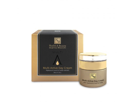 Health & Beauty Multi-Active Day Cream with Hyaluronic and Caviar