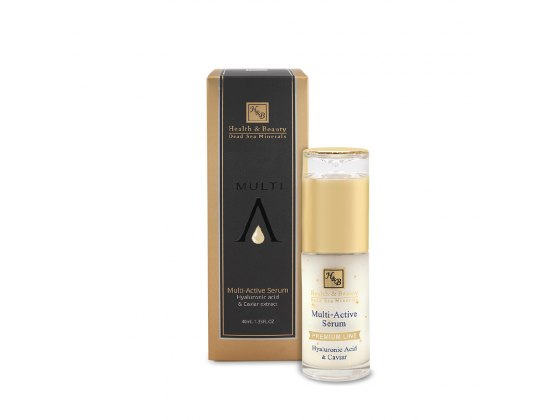 Health & Beauty Multi-Active Serum with Hyaluronic and Caviar