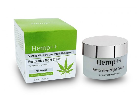 Hemp night cream