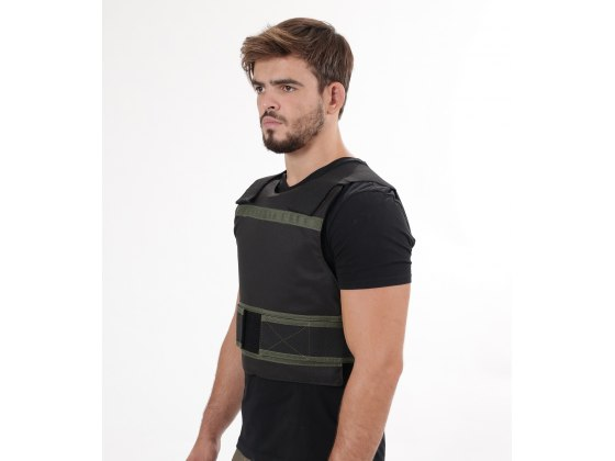 Level IV Concealed Bulletproof Vest with Ceramic Alumina Plates