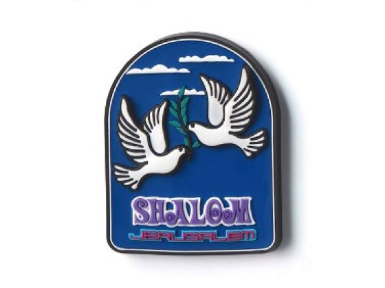 3 Dimentional Colorful Dove of Peace Magnet