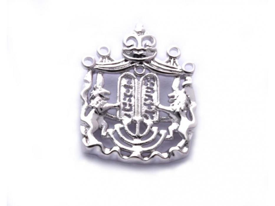 Marina Jewelry Sterling Silver Ten Commandments Pendant