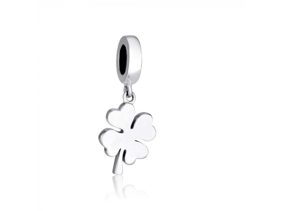Marina Jewelry Sterling Silver Shamrock Charm Bead