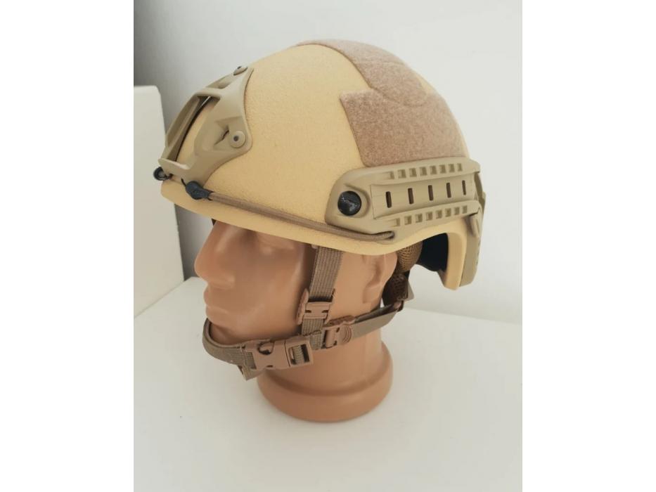 Desert Tan Light Fast Bulletproof Ballistic Helmet Level IIIA