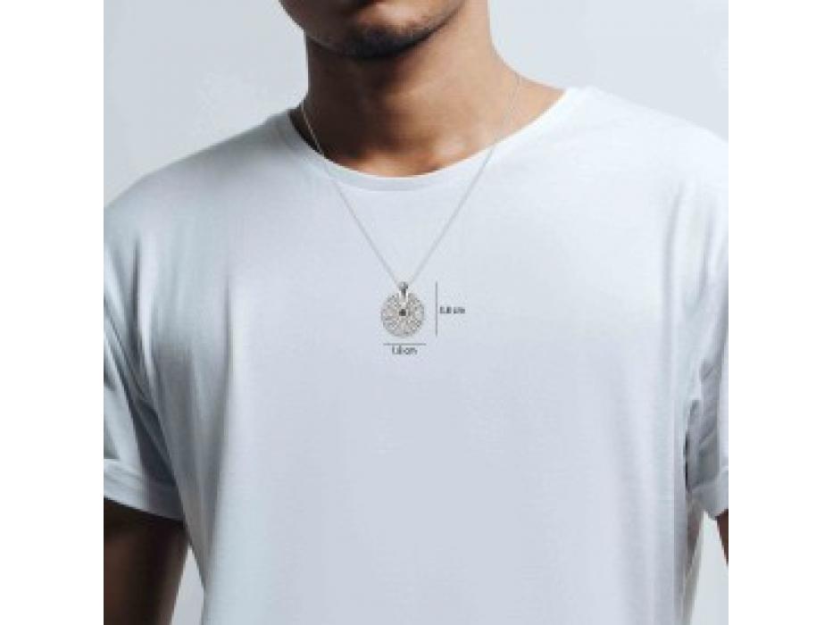 Whole Bible Traveler's Prayer Sterling Silver Nano Jewelry Pendant