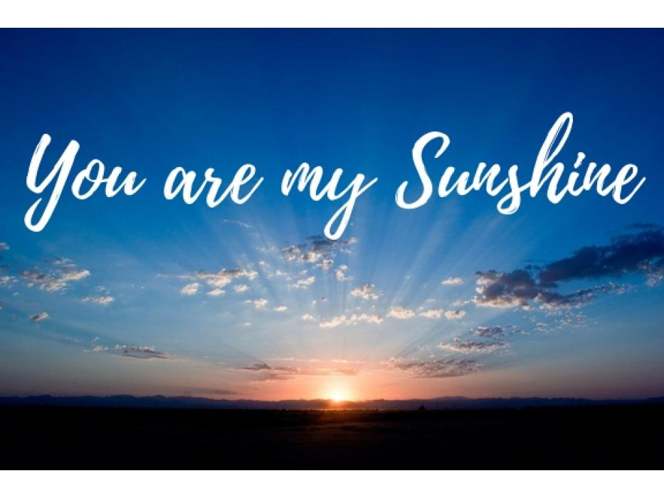 You are my Sunshine eGift Card