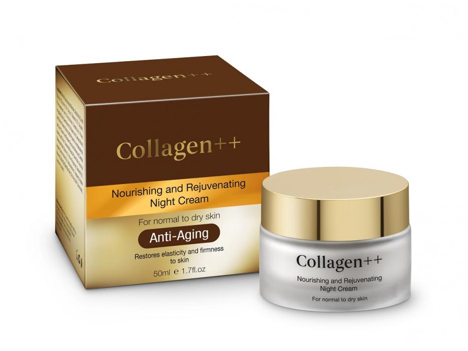 Collagen++ Nourishing and Rejuvenating Night Cream