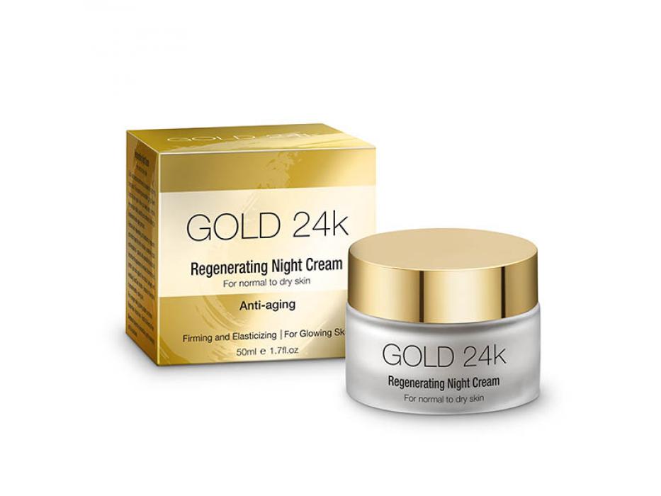 Gold 24k Regenerating Night Cream