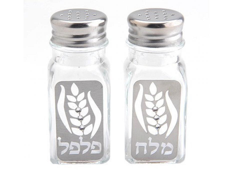 Dorit Judaica Wheat Salt and Pepper