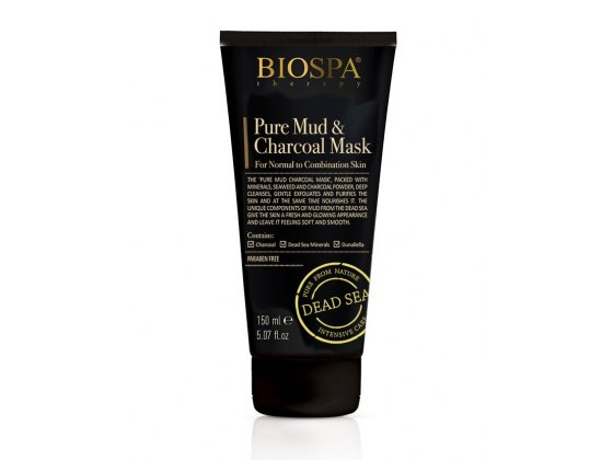Pure Mud & Charcoal Mask by Sea of Spa