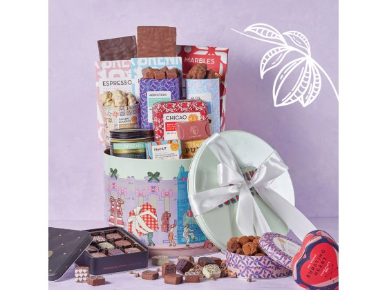 Max Brenner Large Chocolate Gift Box