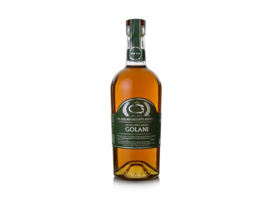 Golani Two Grained Double Wood Matured Israeli Whisky