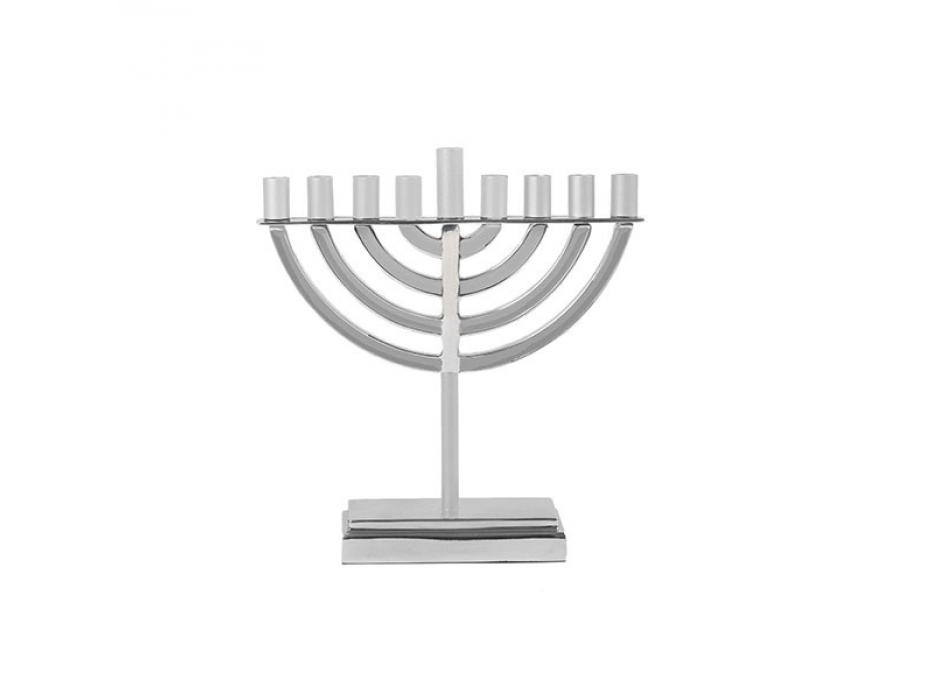 Yair Emanuel Silver Classic Hanukkah Menorah