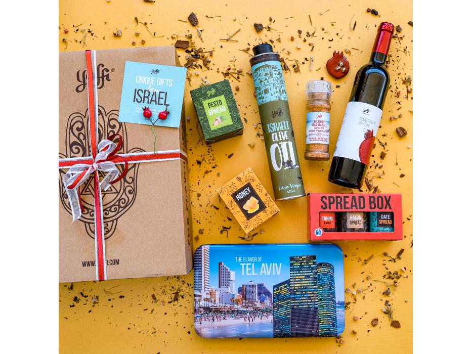 Taste of Israel Pomegranate Holiday Gift Box
