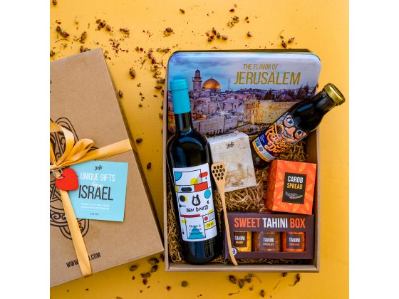 Taste of Israel Holiday Gift Box The Sweet Year