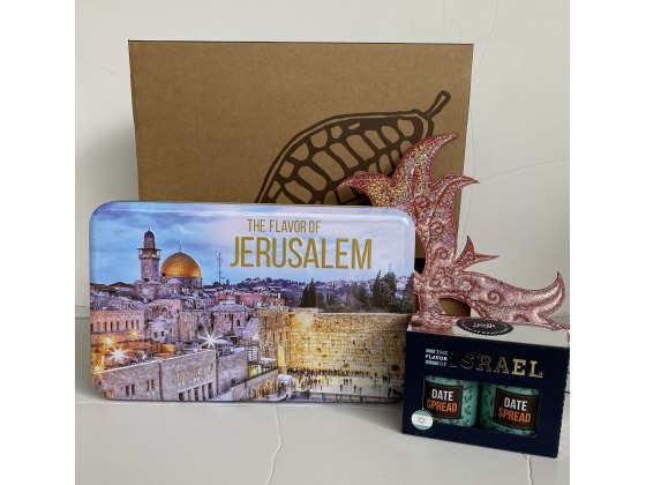 Taste of Israel Jerusalem Purim Gift Box