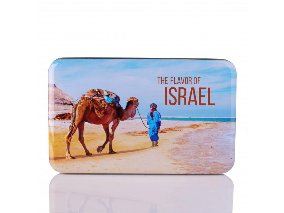Nut Bars Tin Box Camel