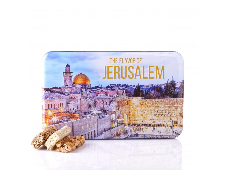 Nut Bars Tin Box Jerusalem