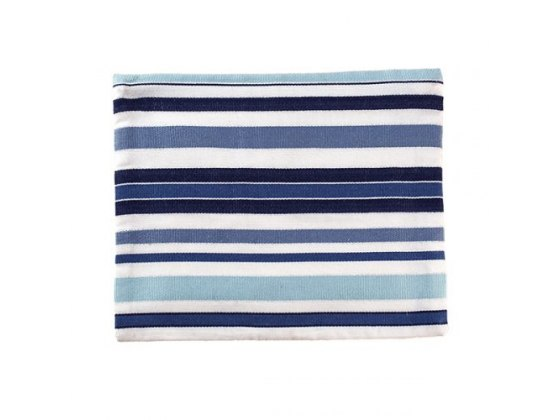 Yair Emanuel Tallit with Blue Stripes And Pomegranate Embroidery
