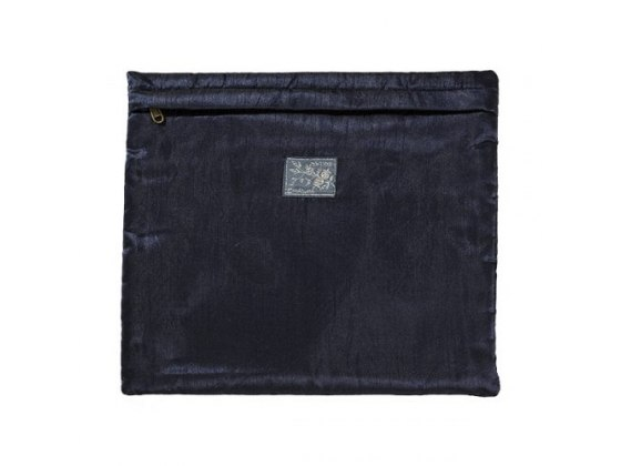 Yair Emanuel Tefillin Bag with Blue Embroidery Squares