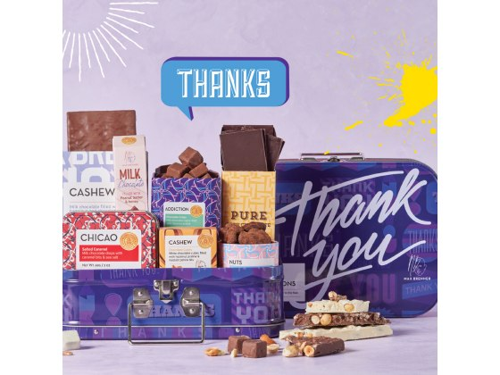 Max Brenner Thank You Chocolate Gift Box