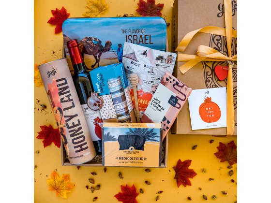 Taste of Israel New Year In The Holy Land Gift Box