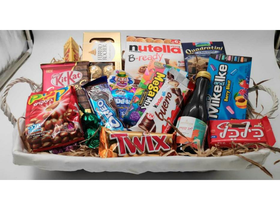 Mishloach Manot Big Gift Basket