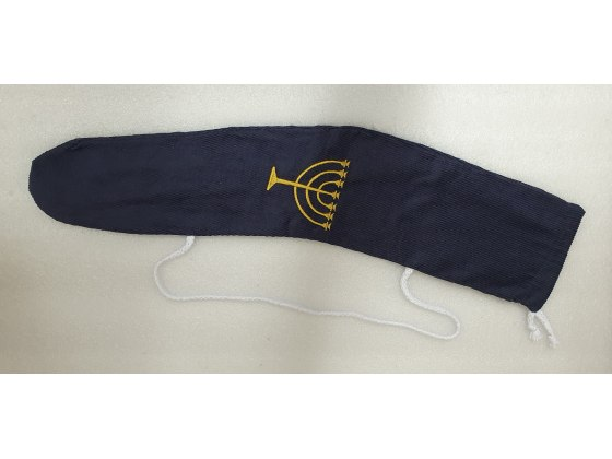 Embroidered Velvet Tallit Bag
