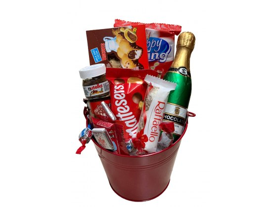 Sweet Red Gift Basket