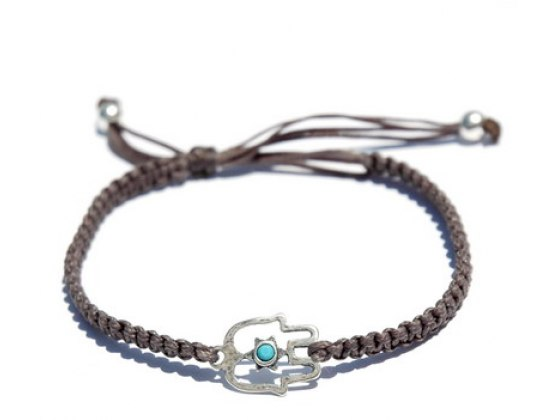 Adjustable Grey String Kabbalah Bracelet