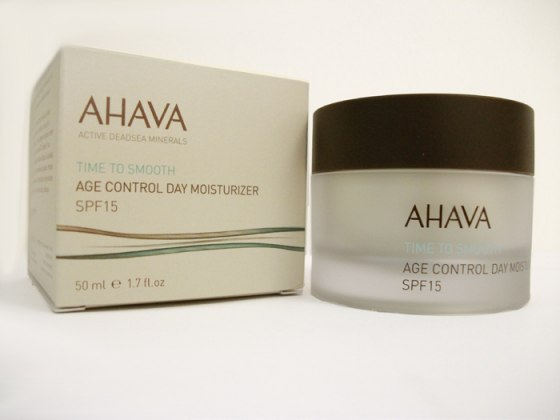 AHAVA Age Control Day Moisterizer, Time To Smooth,  SPF15