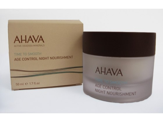 AHAVA  Age Control Night Nourishment, Time To Smooth
