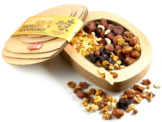 All is Good for Tu BShvat Organic Dried Fruit & Nuts Basket from Nagaya
