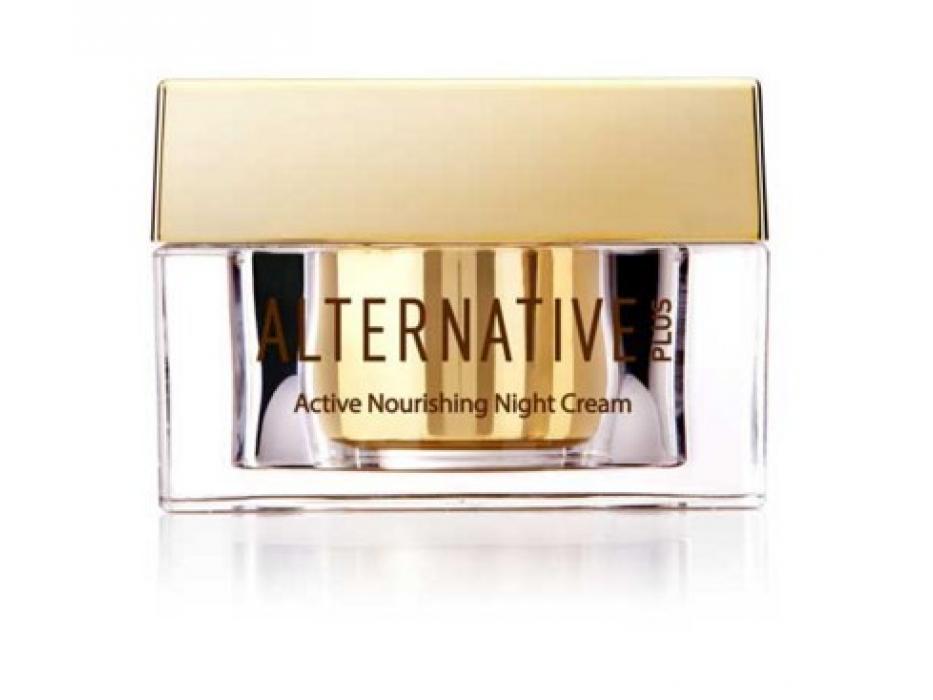 Alternative Plus Active Night Cream with Dead Sea Minerals