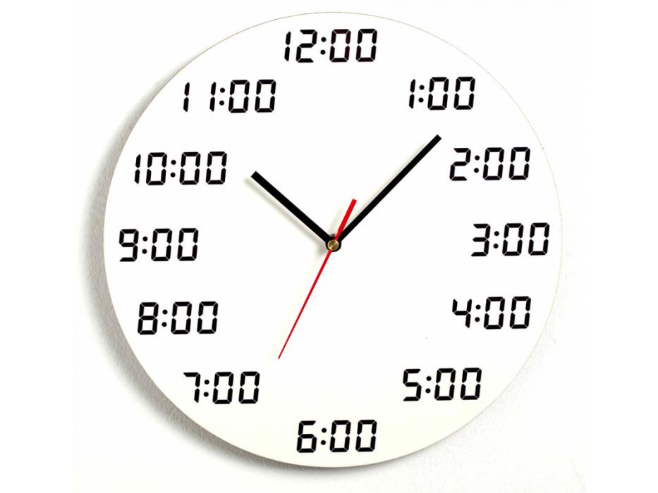 Analogous Digital, Wall Clock