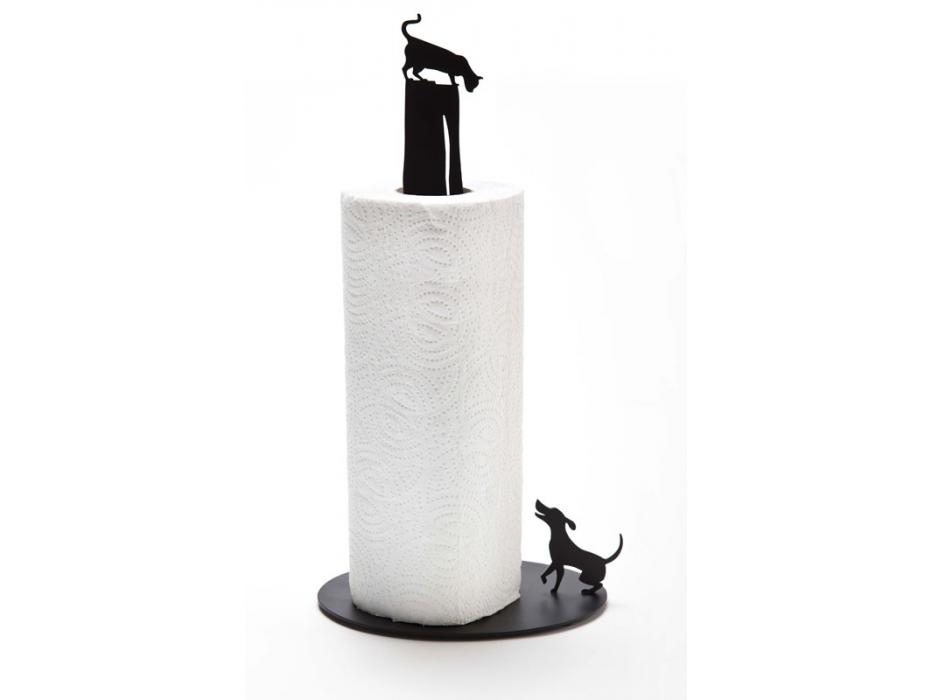 Artori Cat vs Dog Paper Towel Holder ,Kitchen Gadgets