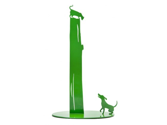 Artori Cat vs Dog Paper Towel Holder ,Kitchen Gadgets