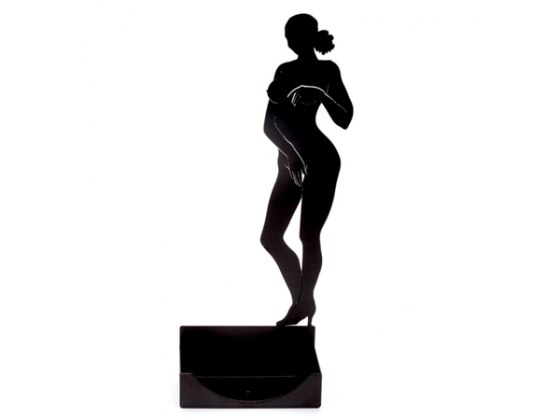 Artori Naked Woman Business Card Holder, Office Accessories