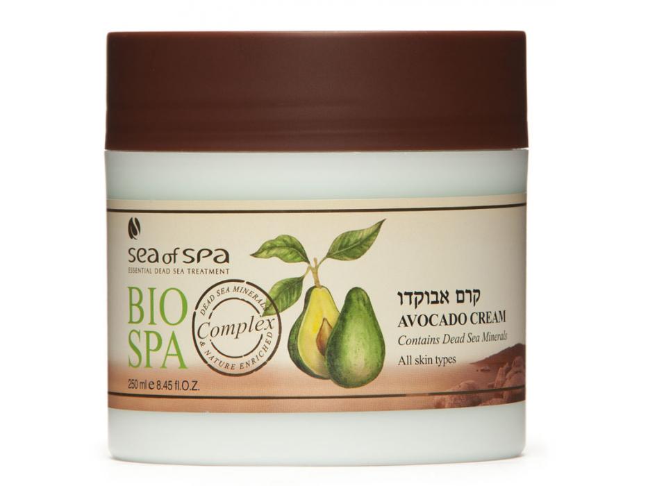 Avocado Face and Body Cream, Dead Sea Minerals